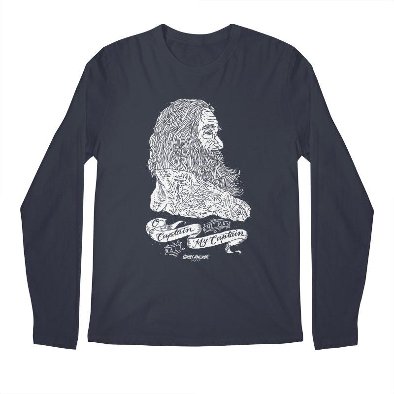 O Captain, my Captain! Men's Regular Longsleeve T-Shirt by GHOST ANCHOR BRAND