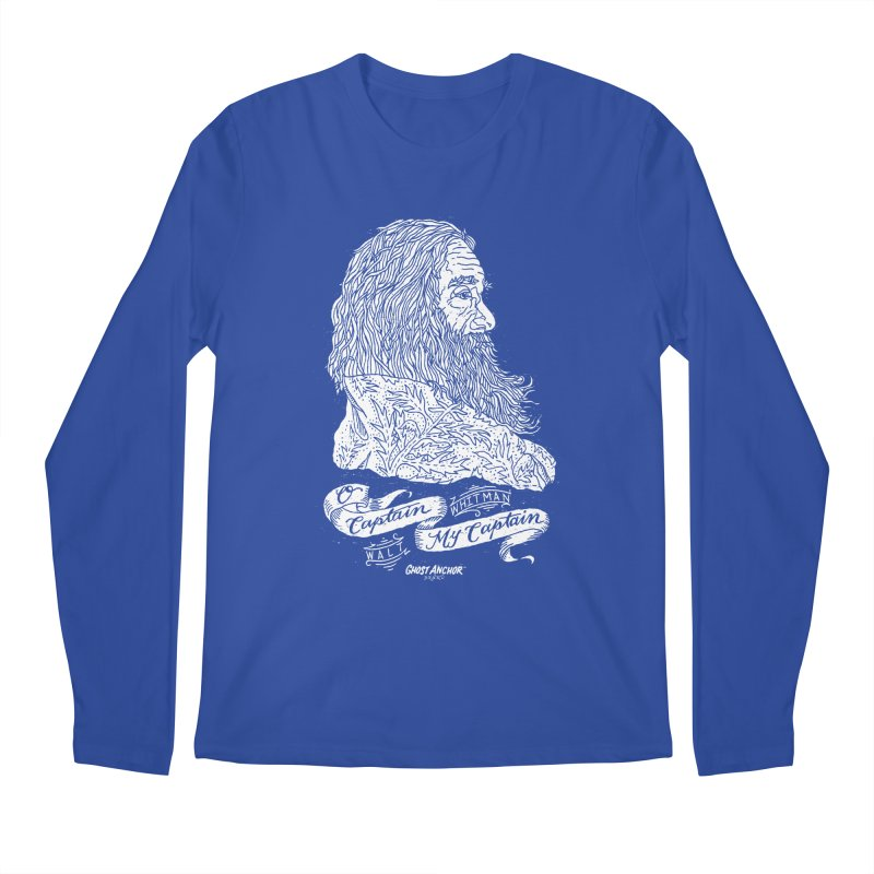 O Captain, my Captain! Men's Longsleeve T-Shirt by GHOST ANCHOR BRAND