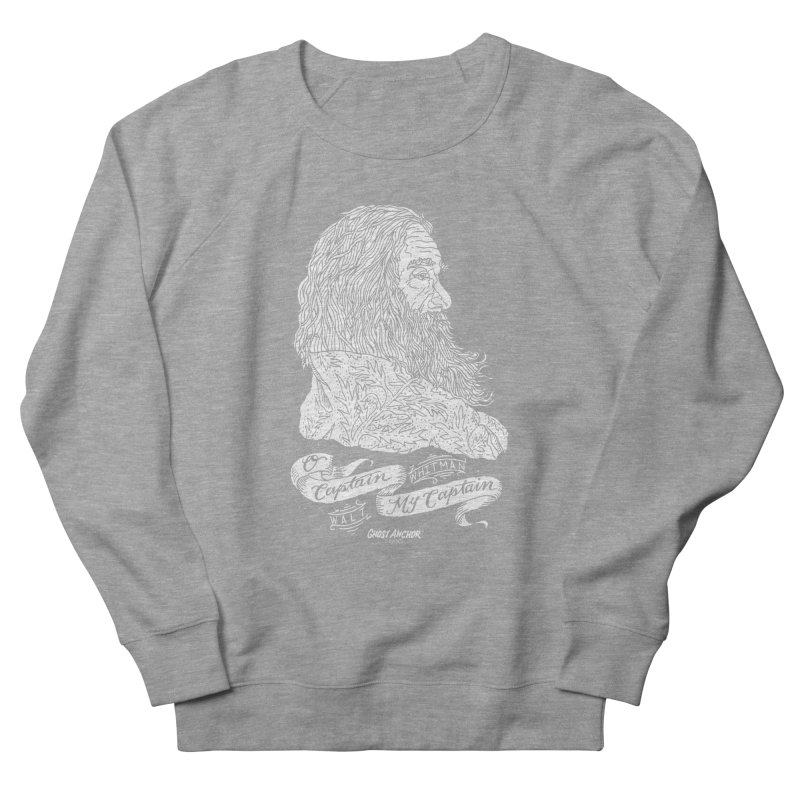 O Captain, my Captain! Men's Sweatshirt by GHOST ANCHOR BRAND