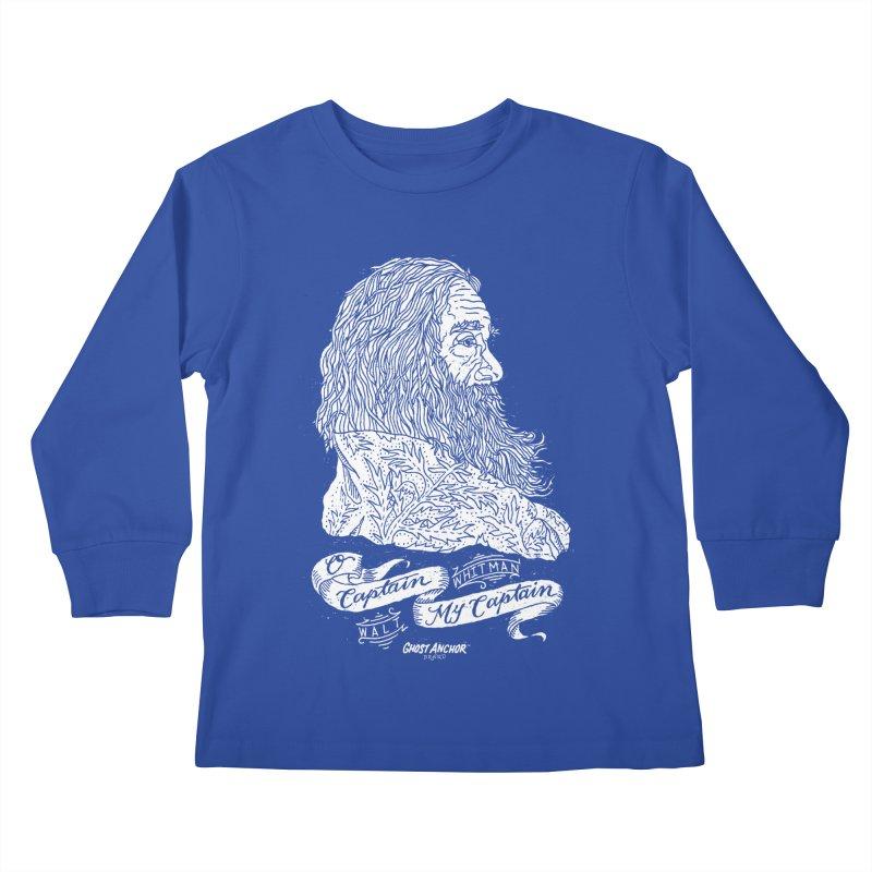 O Captain, my Captain! Kids Longsleeve T-Shirt by GHOST ANCHOR BRAND