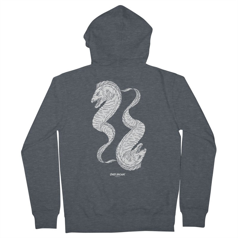 They're Electric!  Eels!!! Women's Zip-Up Hoody by GHOST ANCHOR BRAND