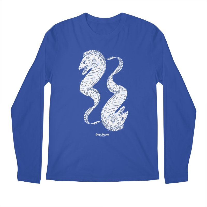 They're Electric!  Eels!!! Men's Longsleeve T-Shirt by GHOST ANCHOR BRAND
