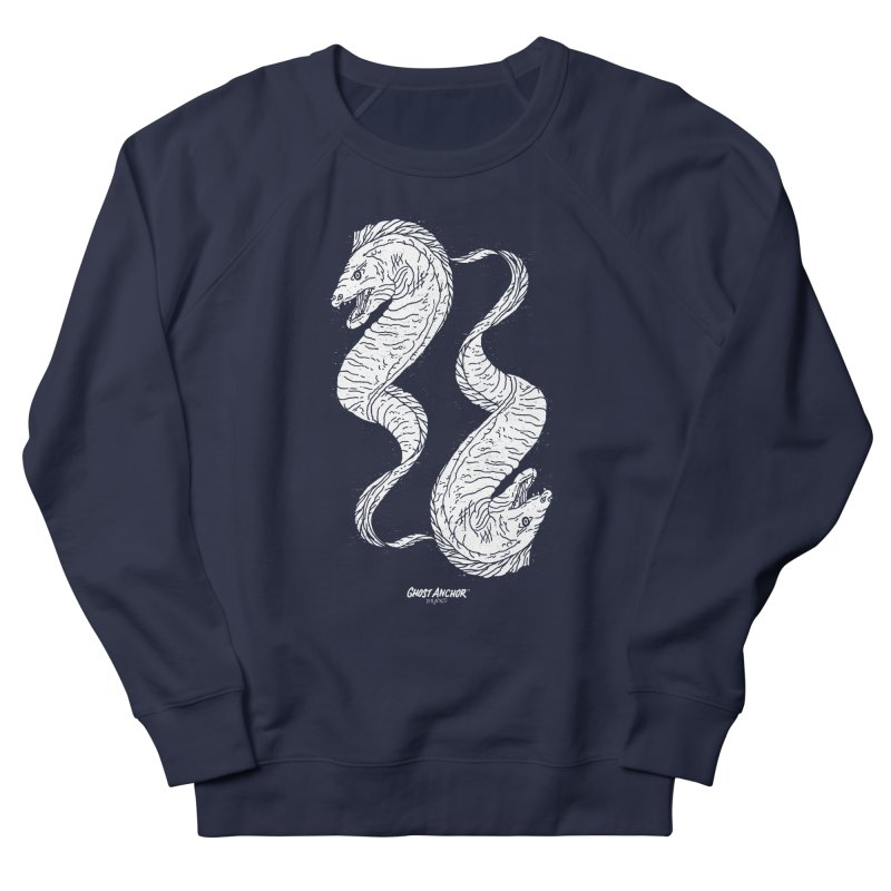 They're Electric!  Eels!!! Women's French Terry Sweatshirt by GHOST ANCHOR BRAND