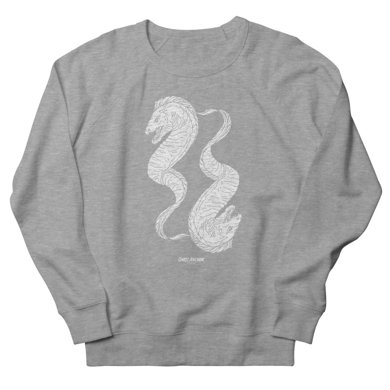 They're Electric!  Eels!!! Men's French Terry Sweatshirt by GHOST ANCHOR BRAND