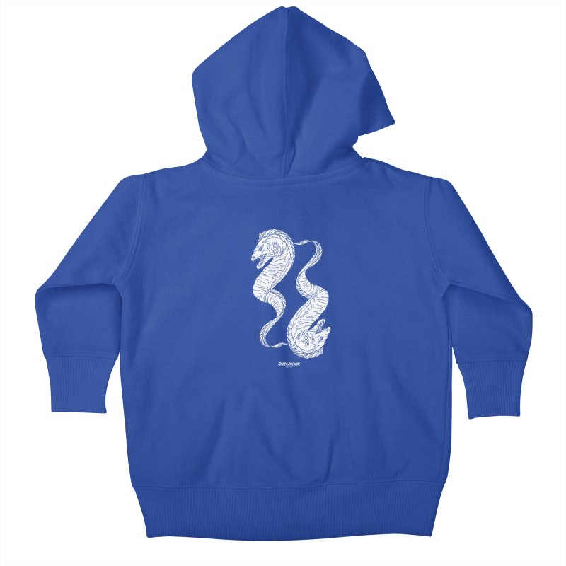 They're Electric!  Eels!!! Kids Baby Zip-Up Hoody by GHOST ANCHOR BRAND