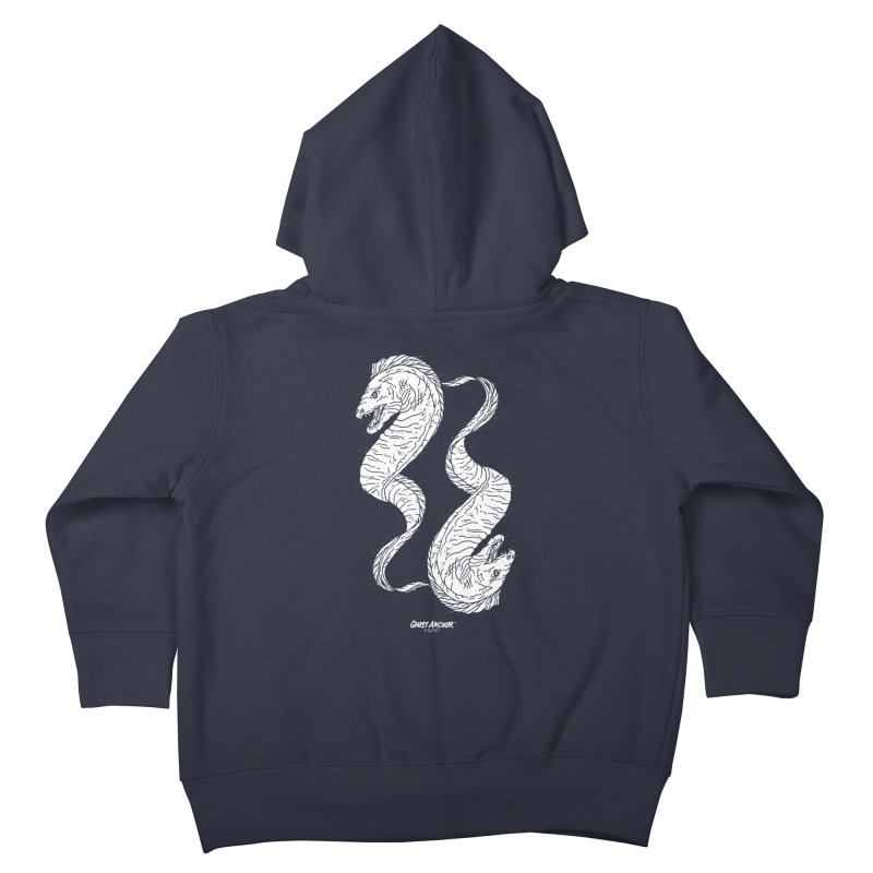 They're Electric!  Eels!!! Kids Toddler Zip-Up Hoody by GHOST ANCHOR BRAND