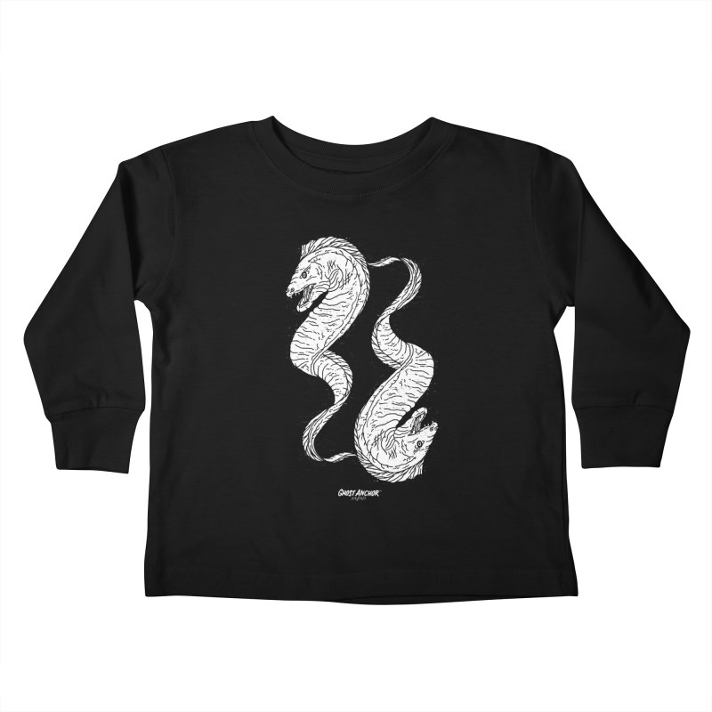 They're Electric!  Eels!!! Kids Toddler Longsleeve T-Shirt by GHOST ANCHOR BRAND