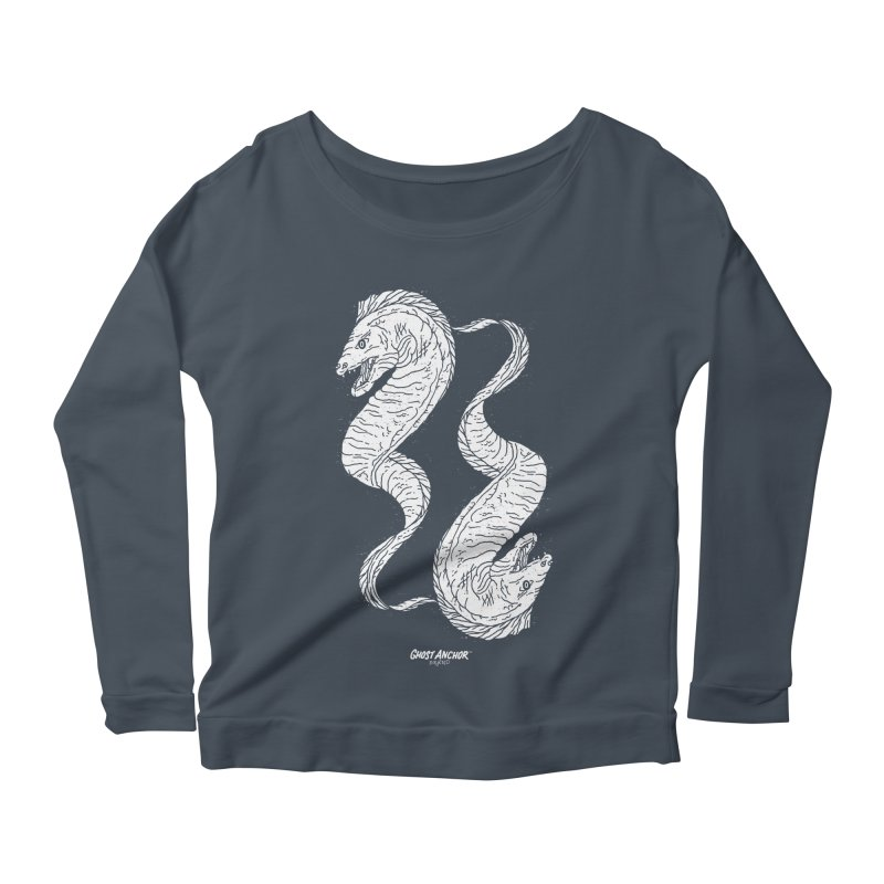 They're Electric!  Eels!!! Women's Longsleeve Scoopneck  by GHOST ANCHOR BRAND