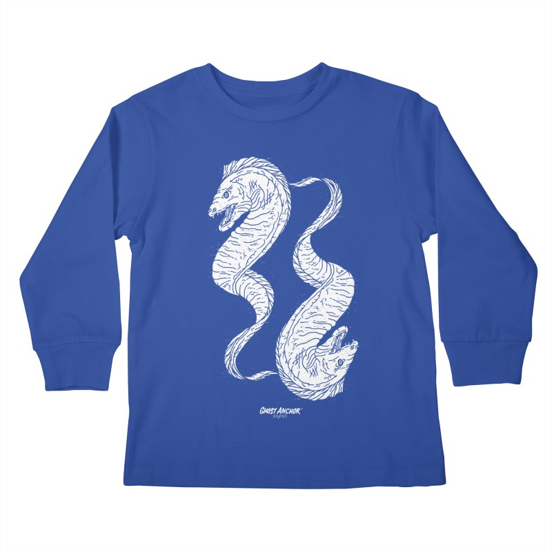 They're Electric!  Eels!!! Kids Longsleeve T-Shirt by GHOST ANCHOR BRAND