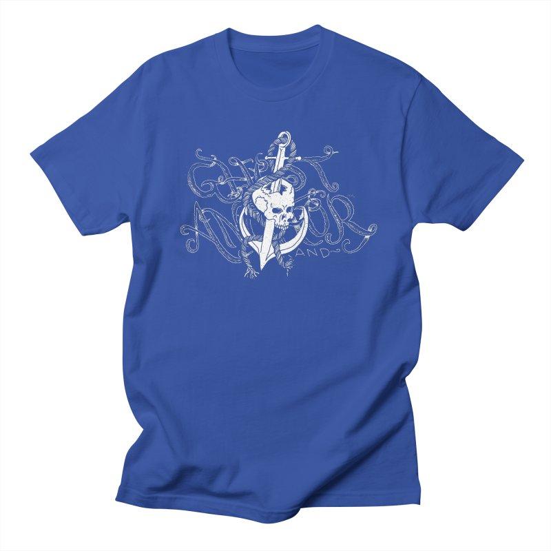Ghost Anchor - Pierced Skull Logo Men's T-shirt by GHOST ANCHOR BRAND