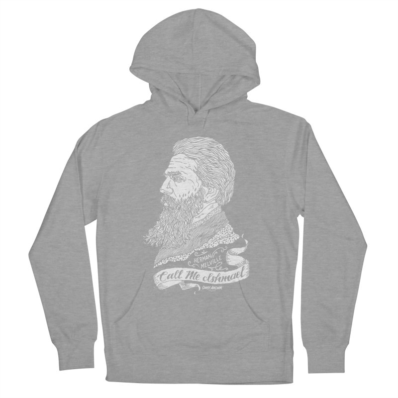 Call Me Ishmael Men's French Terry Pullover Hoody by GHOST ANCHOR BRAND