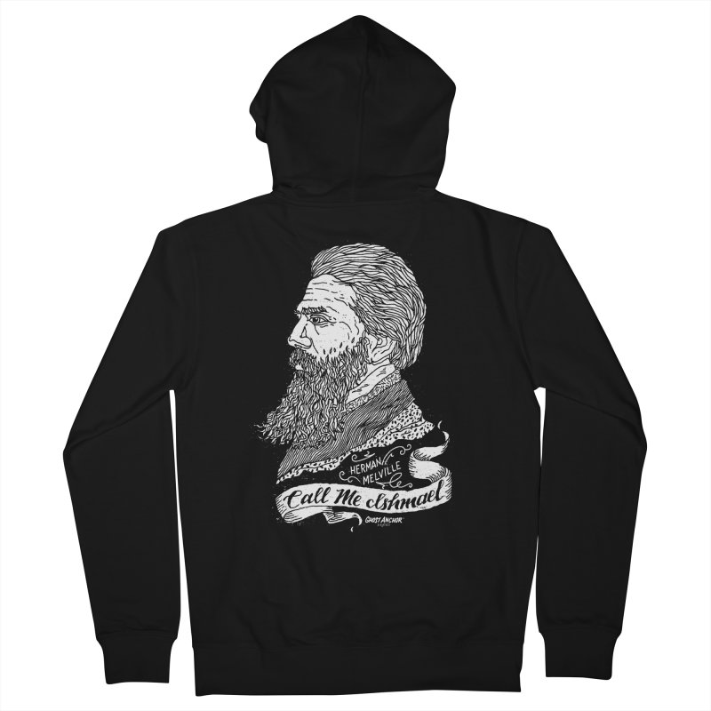 Call Me Ishmael Women's Zip-Up Hoody by GHOST ANCHOR BRAND