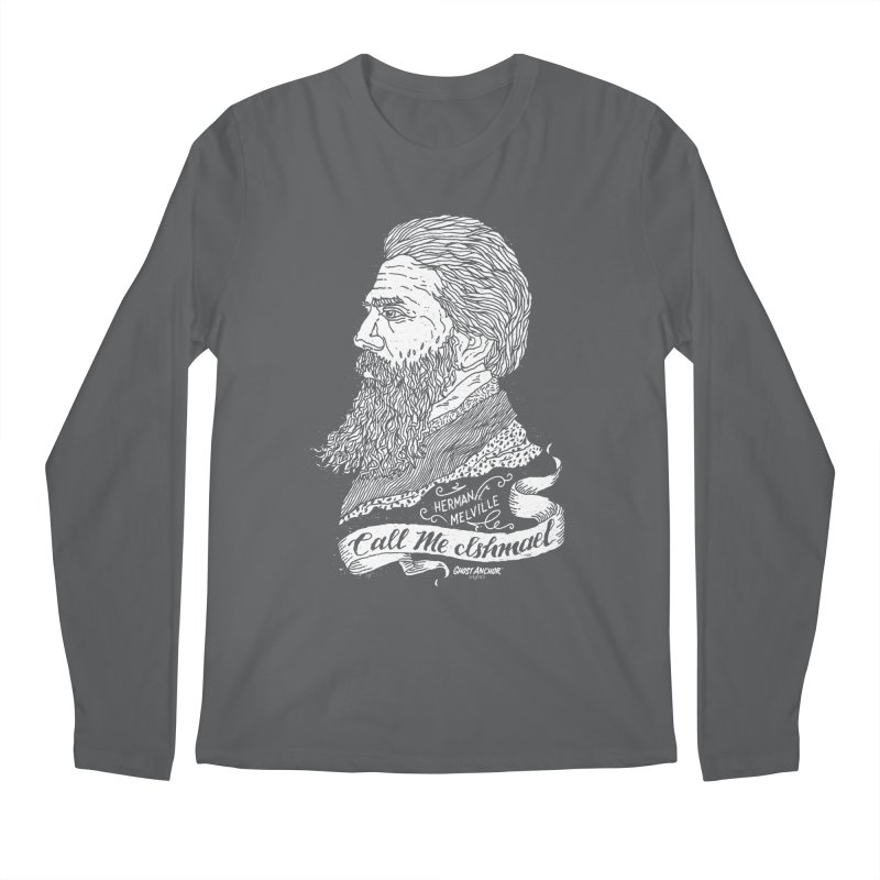 Call Me Ishmael Men's Longsleeve T-Shirt by GHOST ANCHOR BRAND