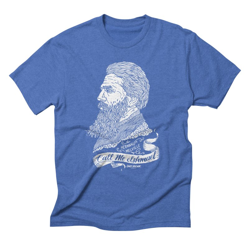 Call Me Ishmael Men's Triblend T-Shirt by GHOST ANCHOR BRAND