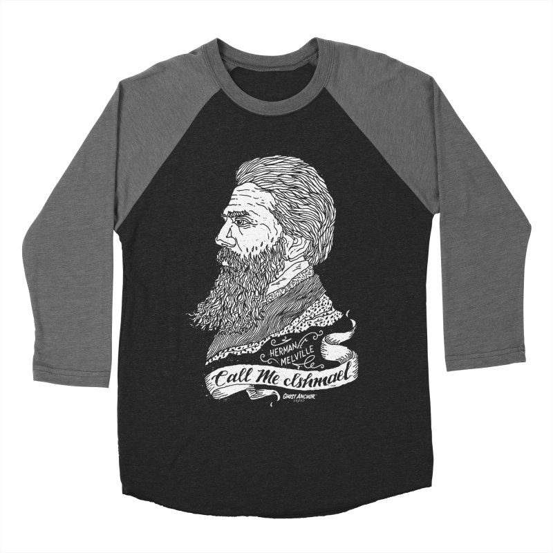 Call Me Ishmael Men's Baseball Triblend Longsleeve T-Shirt by GHOST ANCHOR BRAND