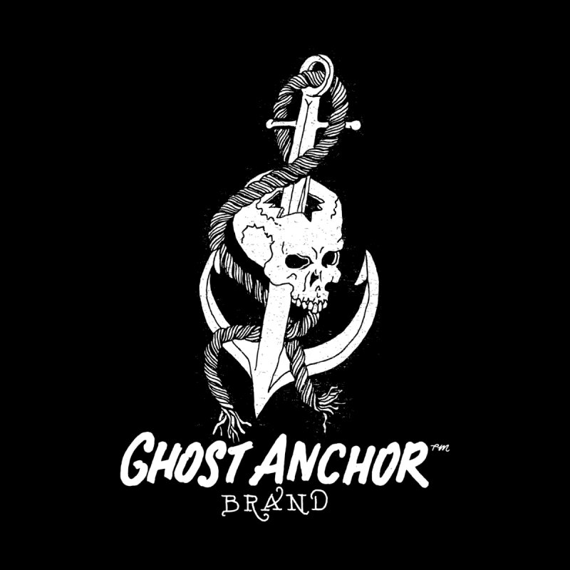 Ghost Anchor Long Logo Men's V-Neck by GHOST ANCHOR BRAND
