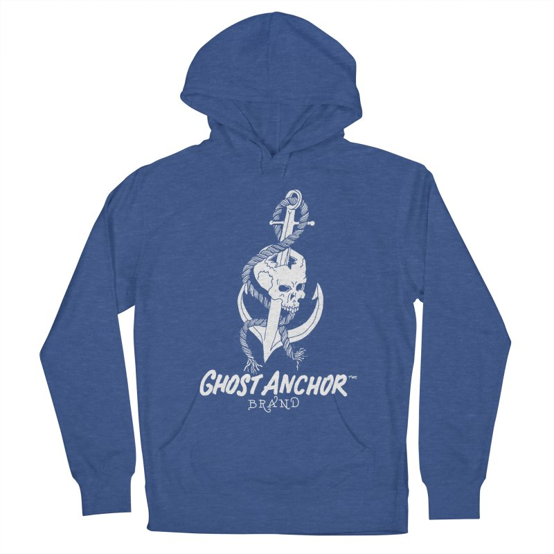 Ghost Anchor Long Logo Men's Pullover Hoody by GHOST ANCHOR BRAND