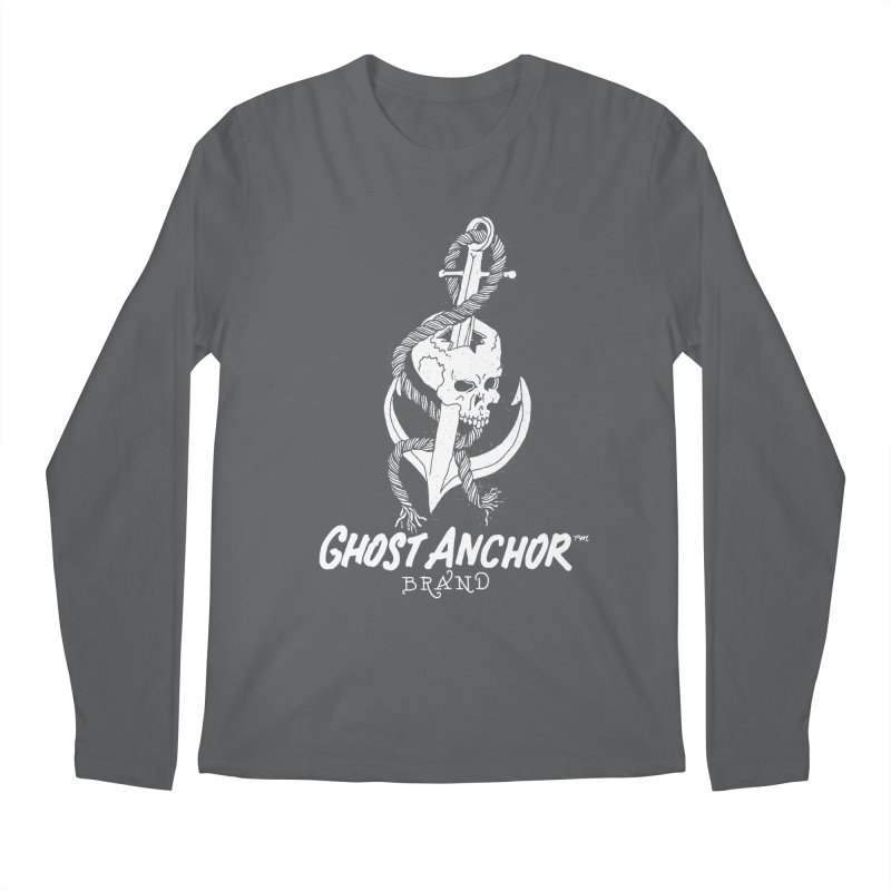 Ghost Anchor Long Logo Men's Regular Longsleeve T-Shirt by GHOST ANCHOR BRAND