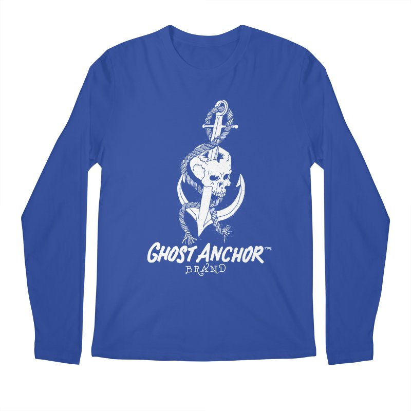 Ghost Anchor Long Logo Men's Longsleeve T-Shirt by GHOST ANCHOR BRAND