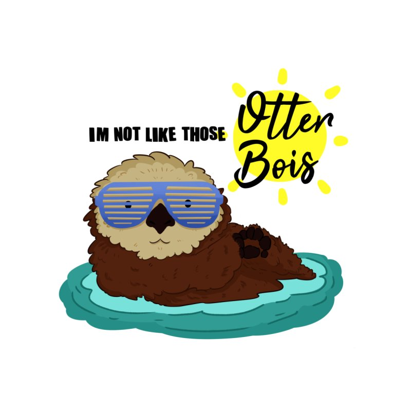 Otter Bois Men's T-Shirt by Art by Ash Walsh