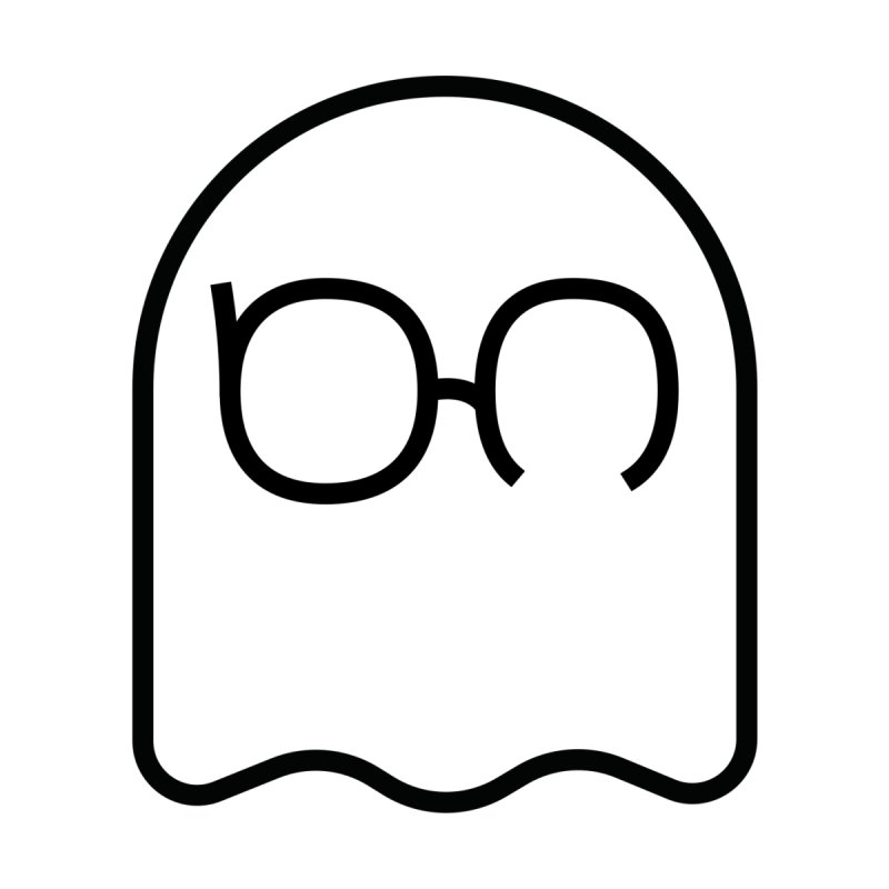 Ghost in Space (Black Logo) Testosterone Ghosts T-Shirt by Ghost in Space's Artist Shop