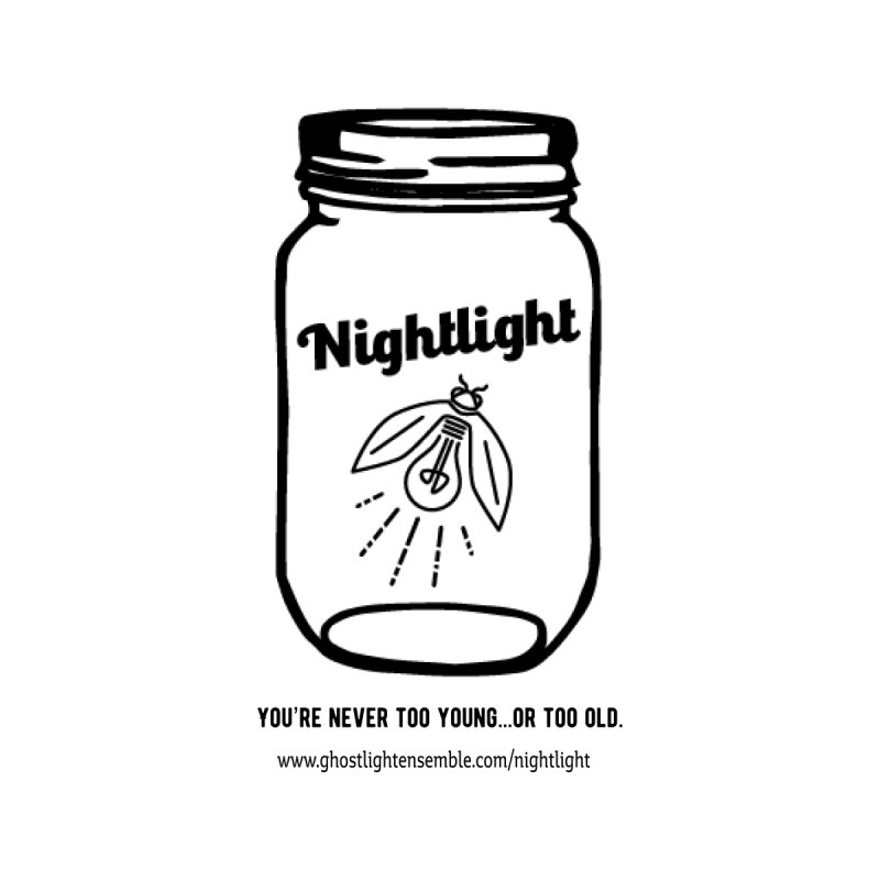 Nightlight Women's V-Neck by Ghostlight Ensemble's Artist Shop