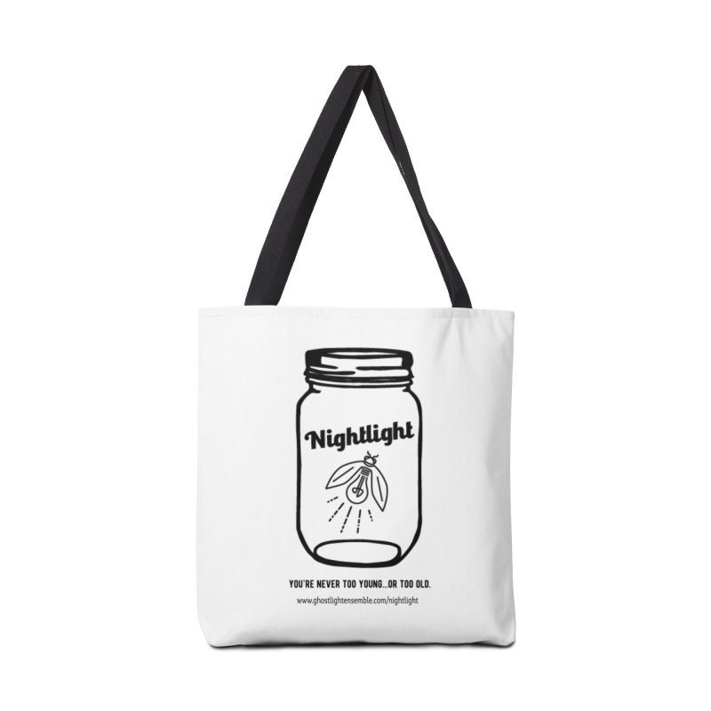 Nightlight Accessories Tote Bag Bag by Ghostlight Ensemble's Artist Shop
