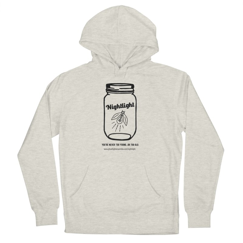 Nightlight Men's French Terry Pullover Hoody by Ghostlight Ensemble's Artist Shop