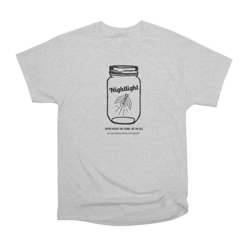 Nightlight Men's Heavyweight T-Shirt by Ghostlight Ensemble's Artist Shop