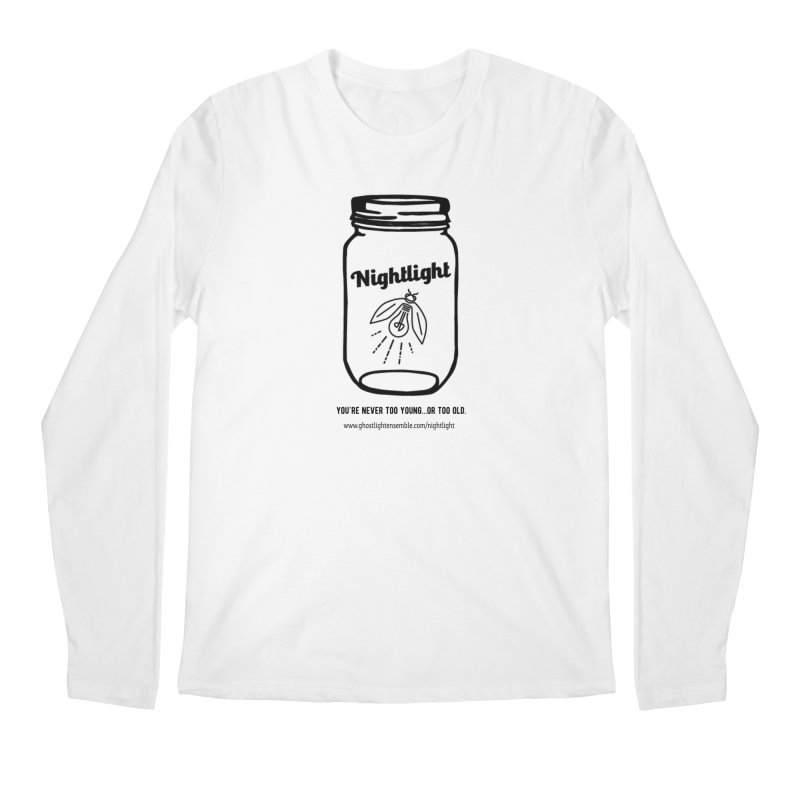 Nightlight Men's Regular Longsleeve T-Shirt by Ghostlight Ensemble's Artist Shop