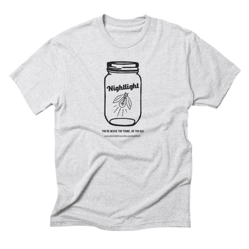 Nightlight Men's Triblend T-Shirt by Ghostlight Ensemble's Artist Shop