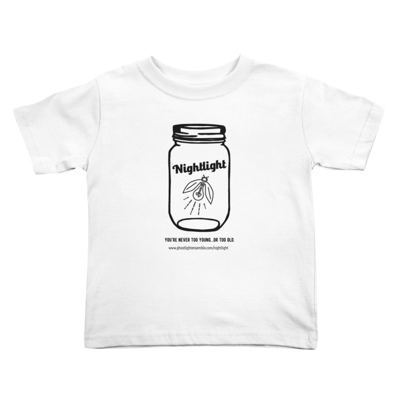 Nightlight Kids Toddler T-Shirt by Ghostlight Ensemble's Artist Shop
