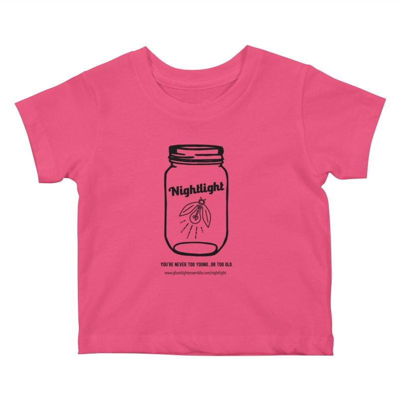 Nightlight Kids Baby T-Shirt by Ghostlight Ensemble's Artist Shop