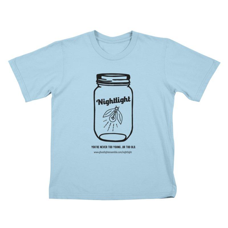 Nightlight Kids T-Shirt by Ghostlight Ensemble's Artist Shop