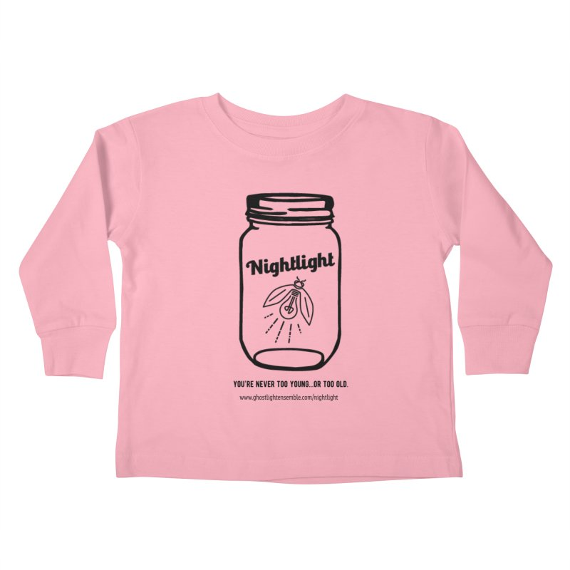 Nightlight Kids Toddler Longsleeve T-Shirt by Ghostlight Ensemble's Artist Shop