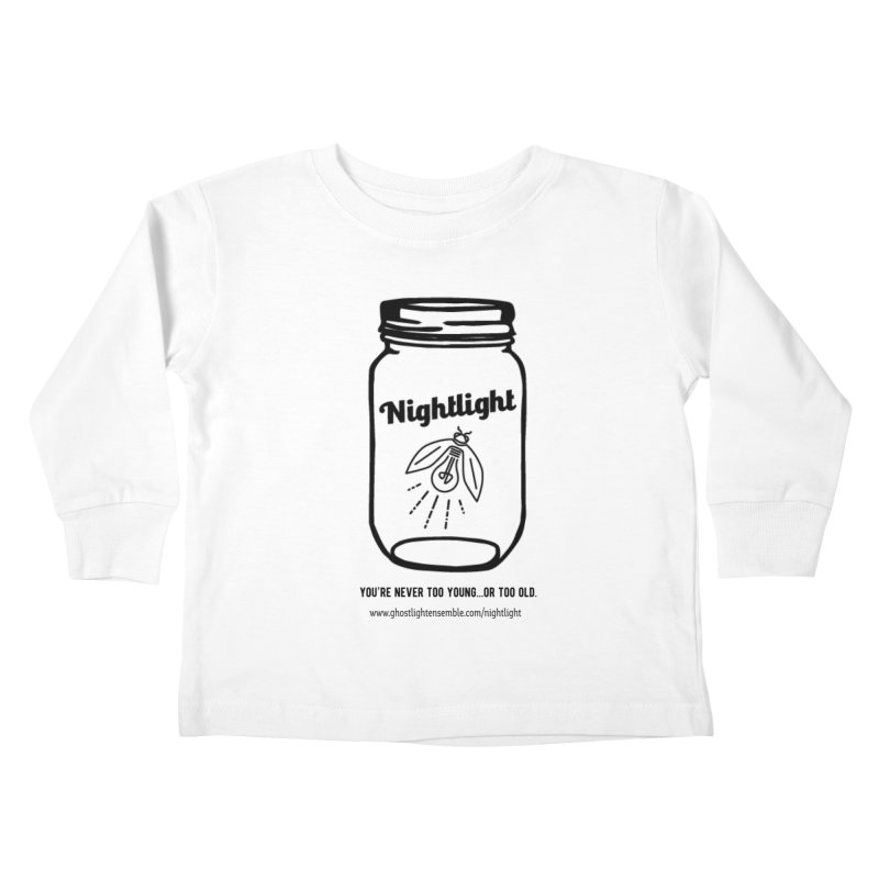 Nightlight Kids Toddler Longsleeve T-Shirt by Ghostlight Ensemble's Artist Shop