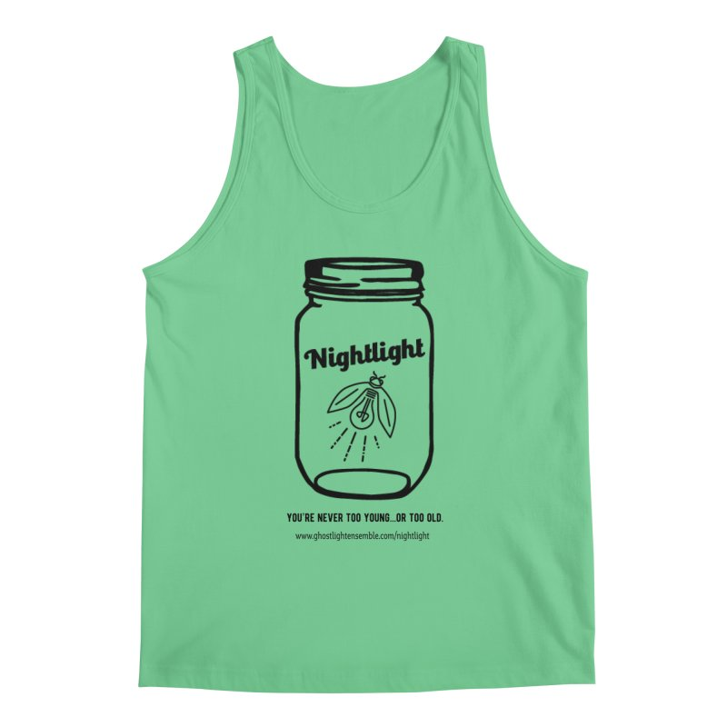 Nightlight Men's Regular Tank by Ghostlight Ensemble's Artist Shop