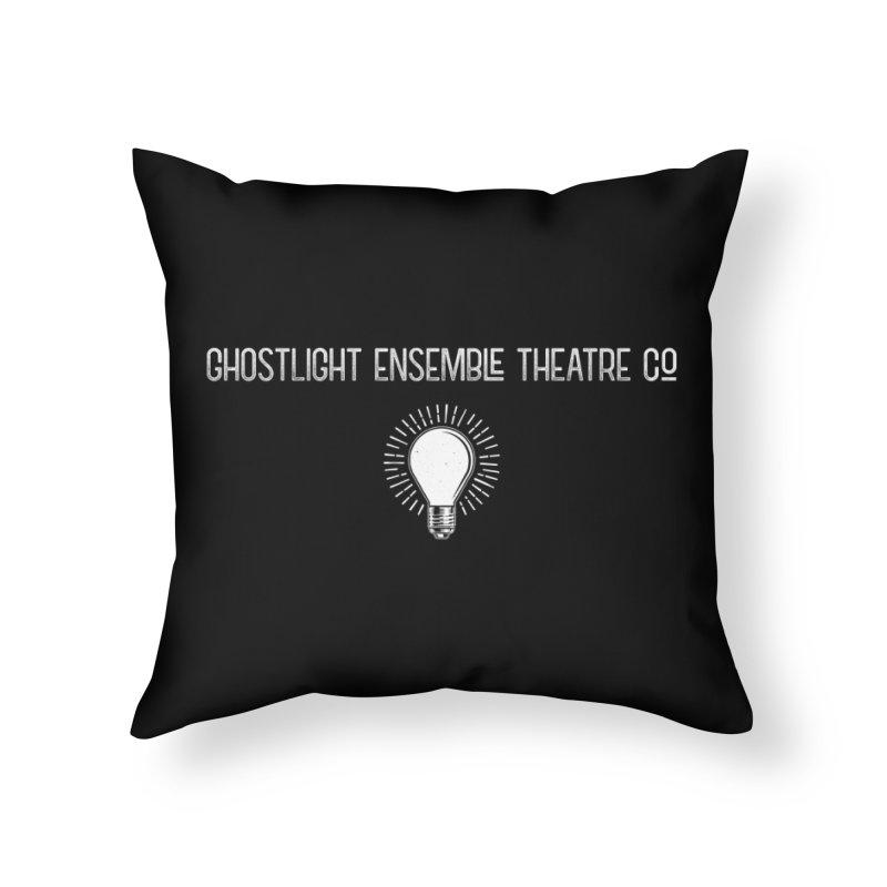 Ghostlight ETC Logo Home Throw Pillow by Ghostlight Ensemble's Artist Shop