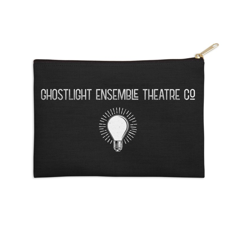 Ghostlight ETC Logo Accessories Zip Pouch by Ghostlight Ensemble's Artist Shop