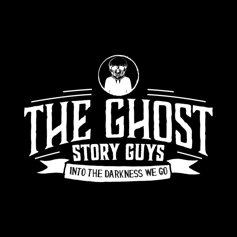 Classic GSG White on Black by The Ghost Story Guys Store