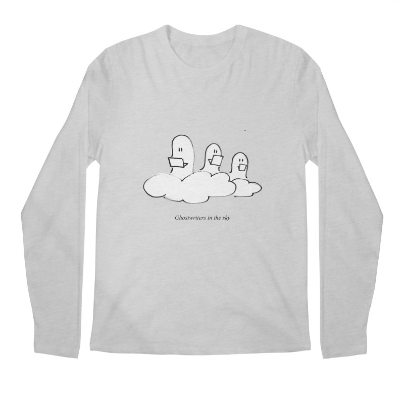 Ghostwriters in the sky Men's Longsleeve T-Shirt by chalkmotion's Shop