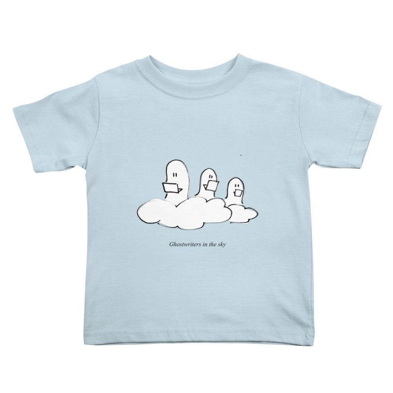 Ghostwriters in the sky Kids Toddler T-Shirt by chalkmotion's Shop