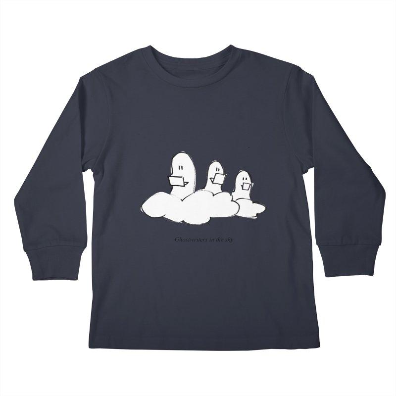 Ghostwriters in the sky Kids Longsleeve T-Shirt by chalkmotion's Shop