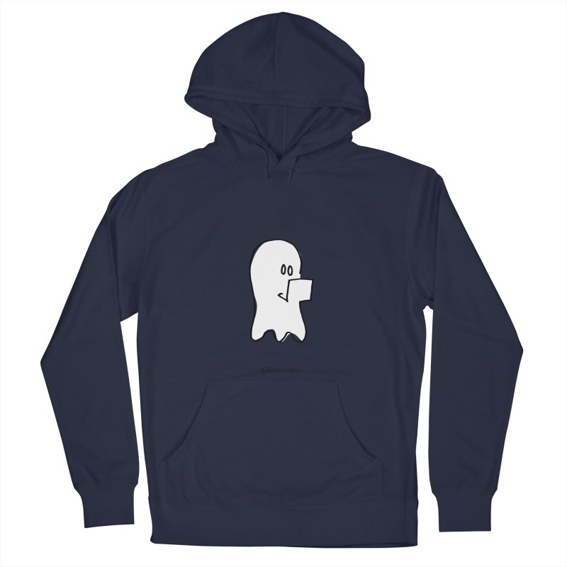 ghostwriter Women's French Terry Pullover Hoody by chalkmotion's Shop