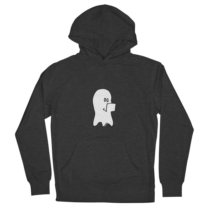 ghostwriter Men's French Terry Pullover Hoody by chalkmotion's Shop
