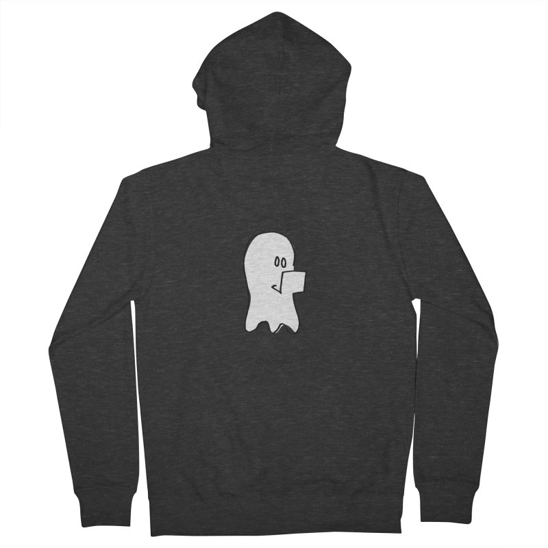 ghostwriter Women's French Terry Zip-Up Hoody by chalkmotion's Shop