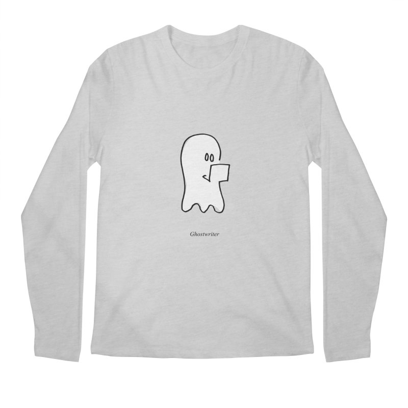 ghostwriter Men's Regular Longsleeve T-Shirt by chalkmotion's Shop