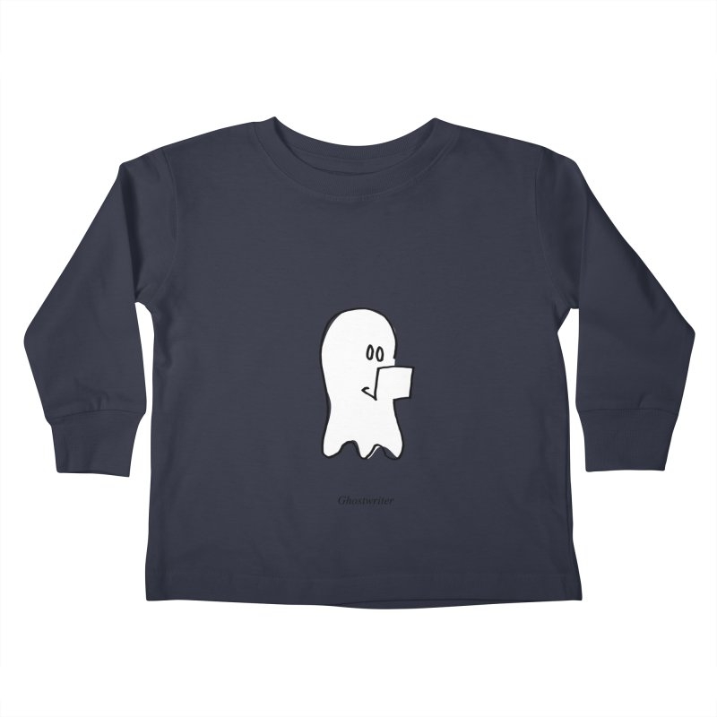 ghostwriter Kids Toddler Longsleeve T-Shirt by chalkmotion's Shop