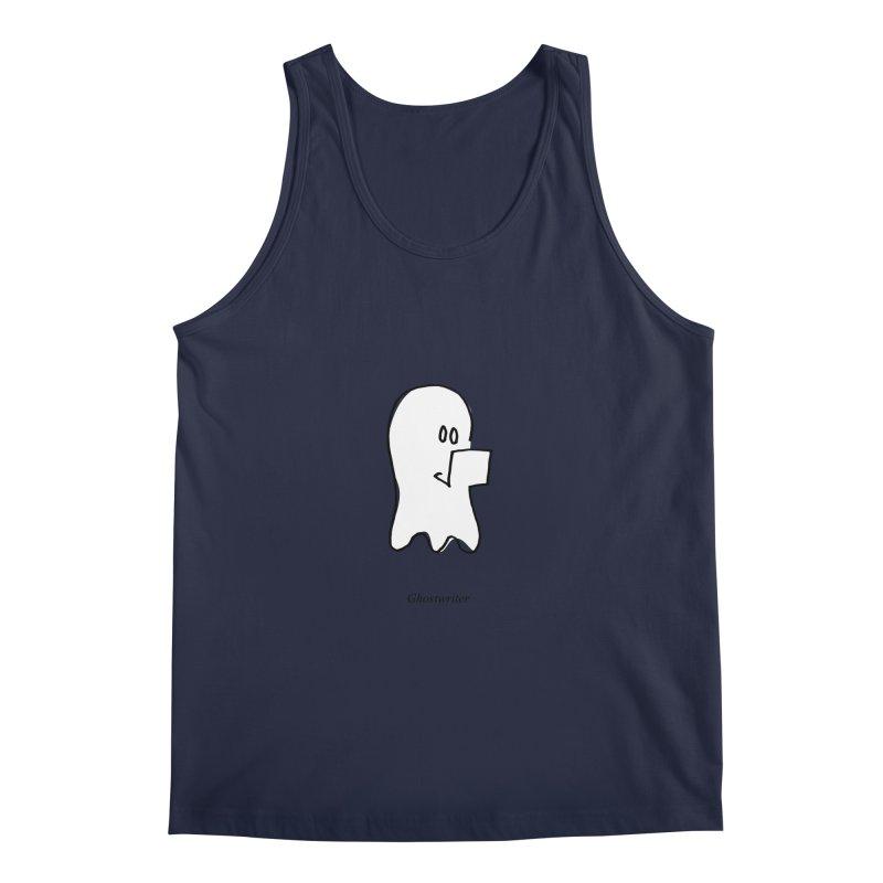 ghostwriter Men's Regular Tank by chalkmotion's Shop