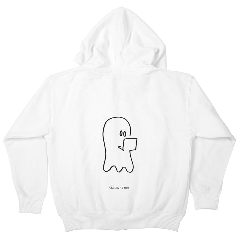 ghostwriter Kids Zip-Up Hoody by chalkmotion's Shop